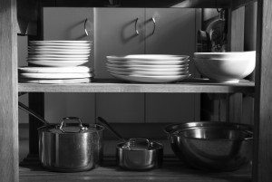 plates and pans