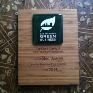 San Francisco Green Business Award